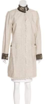 Royal Underground Linen Short Coat