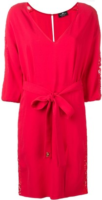 Elisabetta Franchi belted dress