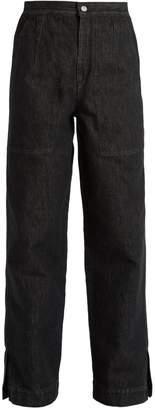 Isabel Marant Elwood high-rise peg-leg denim trousers