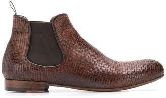 Lidfort elastic ankle boots