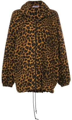 Balenciaga oversized zip-up jumper