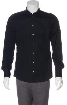 Dolce & Gabbana Point Collar Button-Up Shirt