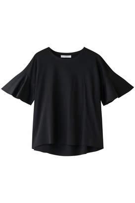 Heliopole (エリオポール) - エリオポール スムースボンディング フレアスリーブTシャツ