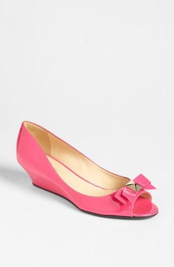 Kate Spade 'tilda' wedge pump (Nordstrom Exclusive) Lipstick Pink Patent 7 M