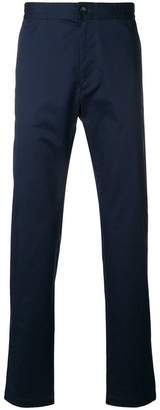 CK Calvin Klein twill tapered trousers
