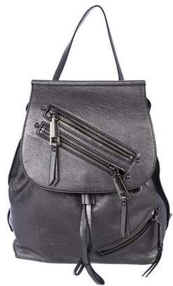 Marc Jacobs Metallic Leather Backpack