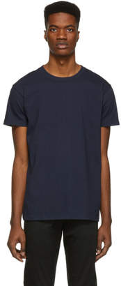 Naked & Famous Denim Denim Navy Circular Knit T-Shirt