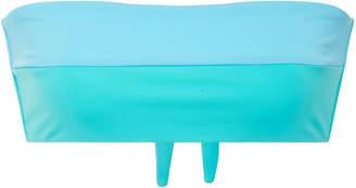 Mara Hoffman Abigal Two-Tone Bandeau Bikini Top