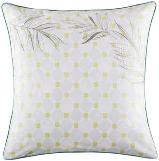Kas Mimi Green Euro Pillowcase