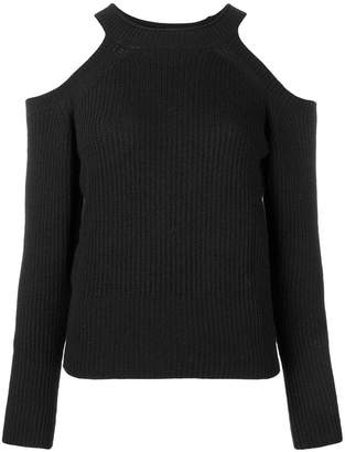 Pinko cold shoulder sweater
