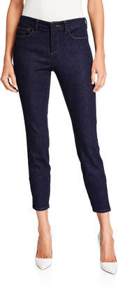 NYDJ Dylan Skinny Ankle Jeans With Zipper Hem