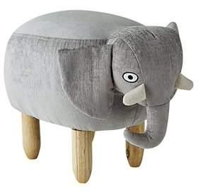 DormCo James - Gray Elephant - Seating Stool
