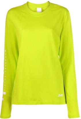 Reebok x Victoria Beckham printed jersey T-shirt
