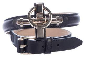 Givenchy Obsedia Leather Waist Belt