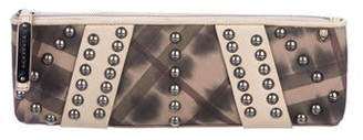 Burberry Abstract Smocked Nova Check Long Clutch