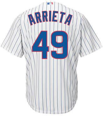 Majestic Men Jake Arrieta Chicago Cubs Player Replica Cb Jersey