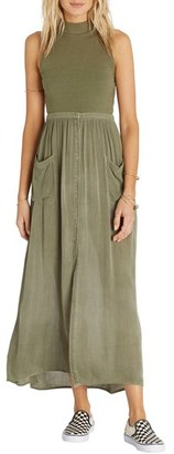 Women's Billabong Honey High Waist Maxi Skirt $49.95 thestylecure.com