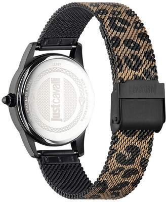 Just Cavalli Stainless Steel Bracelet Watch