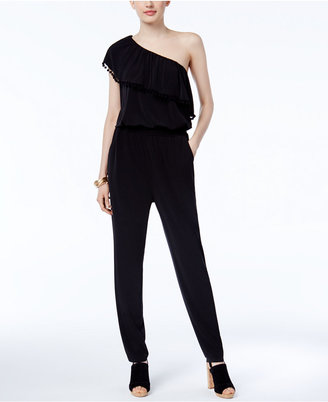 Inc International Concepts One-Shoulder Jumpsuit, Only at Macy's $99.50 thestylecure.com