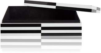 Jonathan Adler Optical Art Lacquered Jewelry Box
