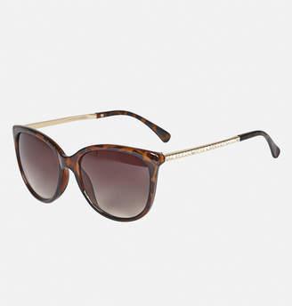 Avenue Mirage Diamond Stem Tortoise Sunglasses