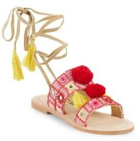 Antik Batik Klarine Leather Open Toe Sandals