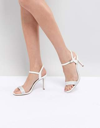Coast Strappy Glitter Heel Shoes