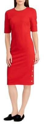 Lauren Ralph Lauren Ponte Sheath Dress