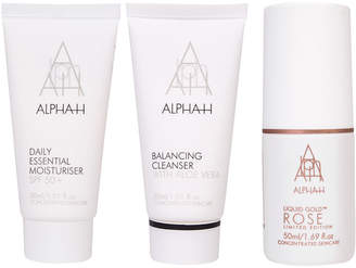 Alpha-h The Petite Holiday Collection With Liquid Gold Rose