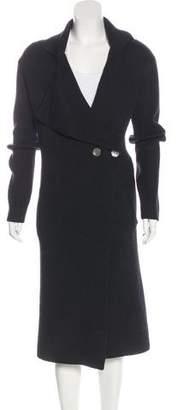 Zero Maria Cornejo Wool Double-Breasted Cardigan