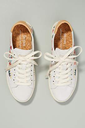Anthropologie Soludos x Embroidered Ibiza Sneakers