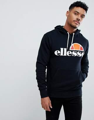 Ellesse Hoodie With Classic Logo In Black
