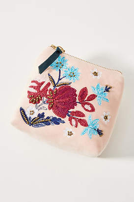 Anthropologie Clair Embellished Pouch
