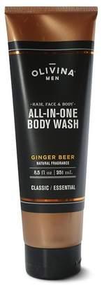 Olivina MEN ALL-IN-ONE BODY WASH - GINGER BEER 8.5 oz