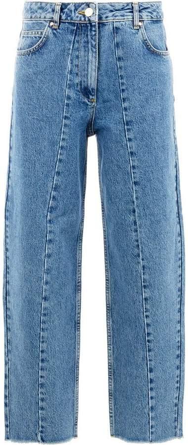 Aalto cropped wide-leg trousers