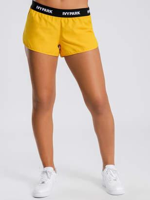 Ivy Park Logo Tape Woven Shorts
