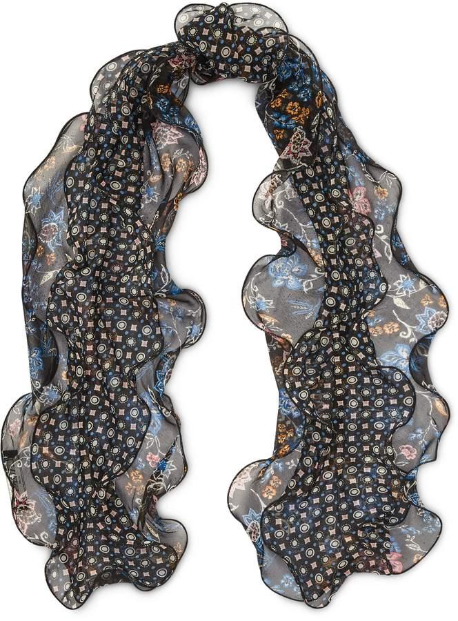 Ralph Lauren Mosaic Silk Scarf