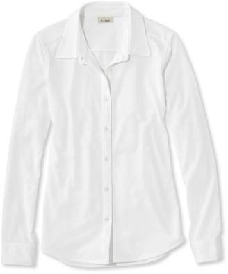L.L. Bean L.L.Bean Shrink-Free Knit Shirt