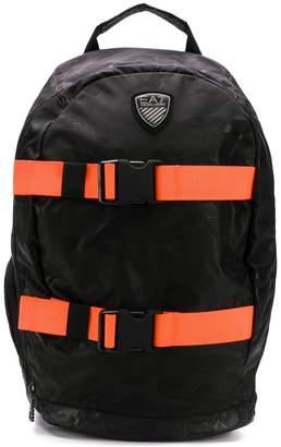Emporio Armani Ea7 contrast strap backpack