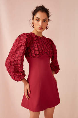 Keepsake MIRRORS LONG SLEEVE DRESS raspberry