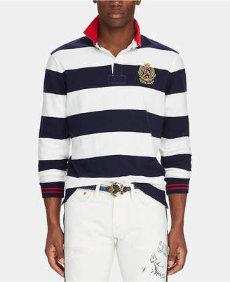 Polo Ralph Lauren Men Classic-Fit Striped Rugby Shirt
