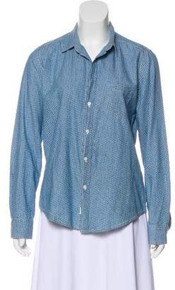 Frank And Eileen Long Sleeve Button-Up Blouse