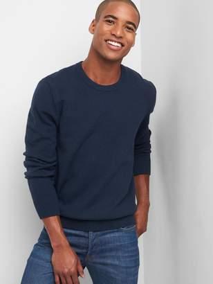 Gap Merino wool blend crewneck sweater