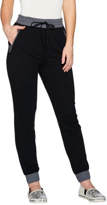 Logo By Lori Goldstein LOGO Lounge by Lori Goldstein French Terry Jogger Pants with Pockets