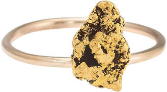 One Kings Lane Vintage Victorian 14K & 22K Gold Nugget Ring - Precious & Rare Pieces