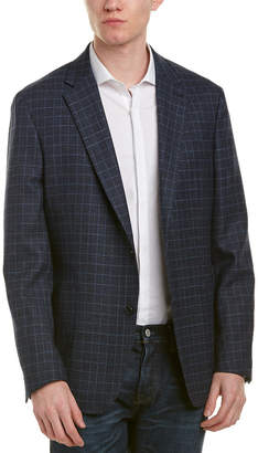 Zanetti Tnuovo Wool Modern Fit Sport Coat