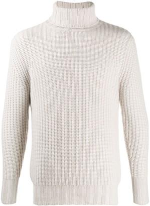 turtleneck knitted jumper