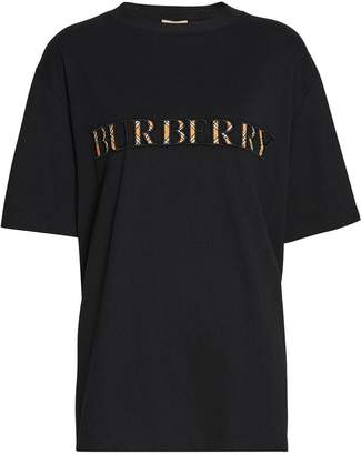 Burberry Check Logo T-shirt