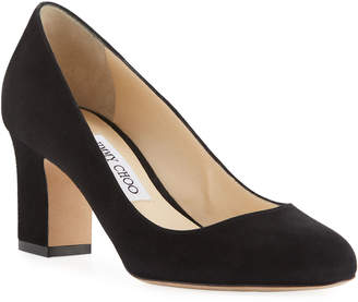 Jimmy Choo Billie 85mm Suede Pumps