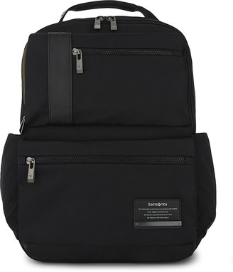 SAMSONITE Openroad infinipak nylon backpack $111 thestylecure.com